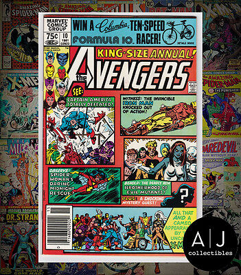 The Avengers Annual #10 (W Marvel B) VF! HIGH RES SCANS!