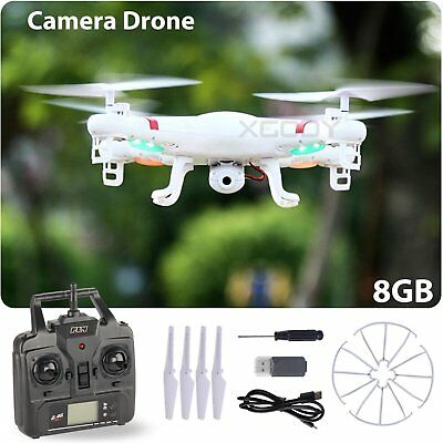 X5C-1 2.4G 4CH RC Explorers Quadcopter 6Axis Heli Drone with HD Camera White RTF