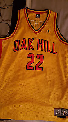 c8329983f0c Vintage 2002 Nike Air Jordan CARMELO ANTHONY OAK HILL High School JERSEY XL