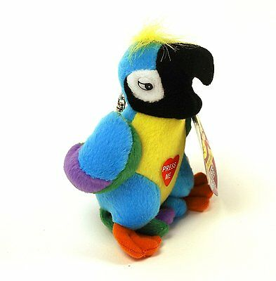 Boxer Gifts Swearing Parrot Keychain