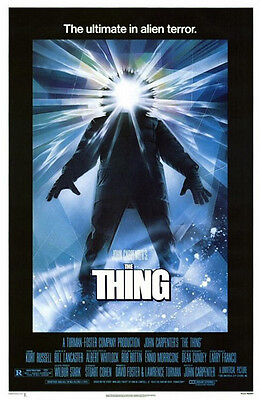 The Thing (1982) original movie poster single-sided rolled