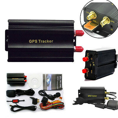 New GPS Car Tracker w/ PRS Vehicle Theft Protection Alarm System TK103A