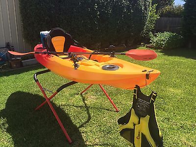 Kayak 3.0m Complete Fishing Package - Perfect Condition