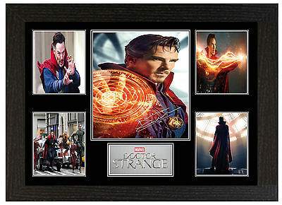 Dr Strange Benedict Cumberbatch - A3 Signed Framed Collectors Display Picture