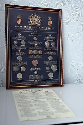 """Historic Coin Collection-""""ROYAL HISTORY OF GREAT BRITAIN"""" Collection-"""
