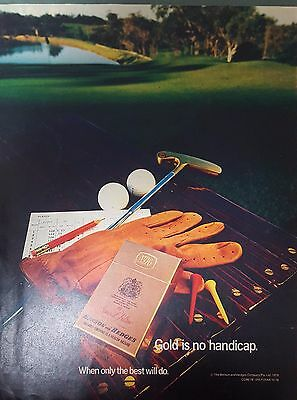 Vintage 1979 Benson and Hedges Cigarette Womans Weekly Magazine Advertisement