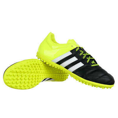Men's football shoes ADIDAS ACE 15.3 TF Leather Soccer Astro Soles Turfs