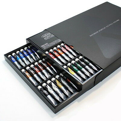 Acrylic Paint 113 Full Colors Set 20ml(No.6)AU999 Holbein from Japan New