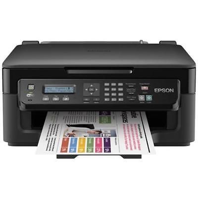 EPSON Workforce WF-2510W Stampante Multifunzione Stampa Copia Scansione Fax 34pp