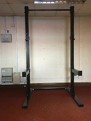 heavy duty squat rack and pull up bar