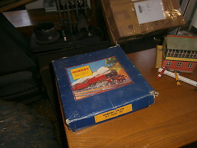 Hornby Clockwork Train Tinplate Trainset Boxed Mo Set Incomplete 2 Engines Track
