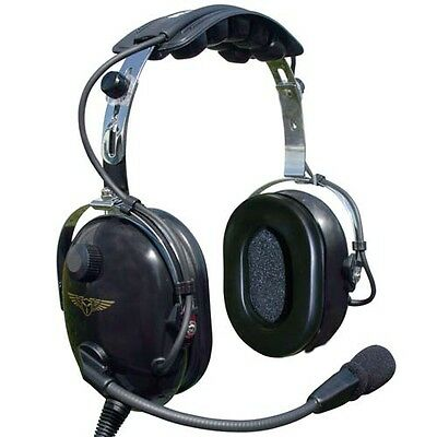 Transair Pilot TA-200 Headset With Free Headset Case
