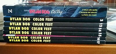 Dylan Dog - Color Fest (2-12-14-16-17) + Maxi DD - Old Boy n.22