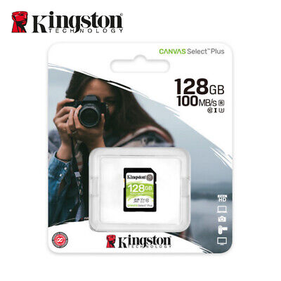 Kingston Canvas Select 128 GB SDXC Class 10 UHS-I Flash Tarjeta de Memoria