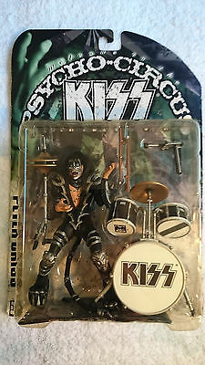 Kiss 'peter Criss' Psycho Circus  Tour Edition Figure (Mint)