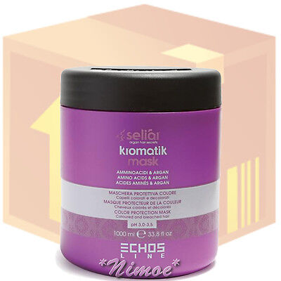 Kromatik Mask box 12 x 1000ml pcs Seliar ® Protection System Coloured Bleached