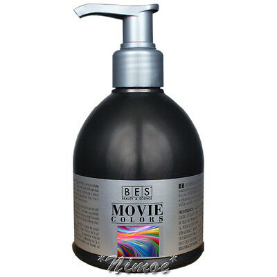 Pastel Movie Colors BES ® Chic-Shock Direct Dyes Hair Colorazione Diretta 250ml