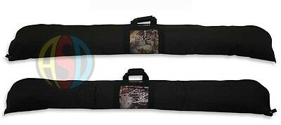 Buck Trail Archery Soft Padded Case for Traditional One Piece Recurve Bow