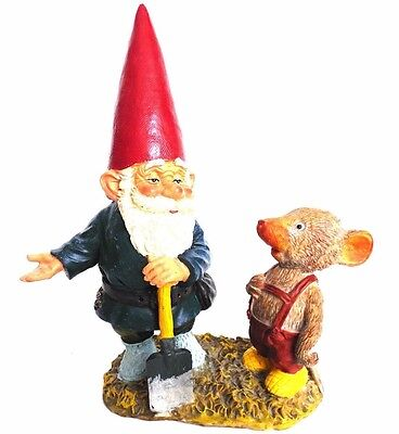 Al with Mouse, Rien Poortvliet, 10 INCH Gnome, Klaus Wickl, David the Gnome.