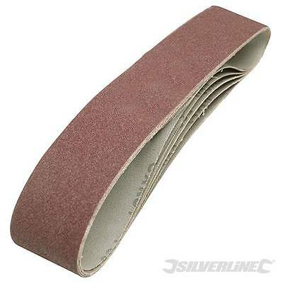 Sanding Belts 686mm x 50mm 5pk 80Grits fits 240v belt grinder and sander 463484
