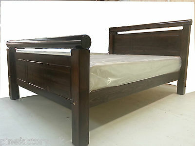 wooden bed   bedroom    birmingham     strong beds may deliver  pine wood