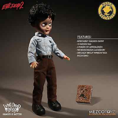 Living Dead Dolls Presents Evil Dead 2 Deadite Ash By Mezco Toyz IN STOCK