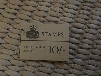 GB 10/- BOOKLET ( X 16p ) August 1967