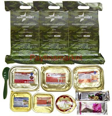 Military Russian Army Food Ration Daily Pack Mre Emergency Rations Meal Combat