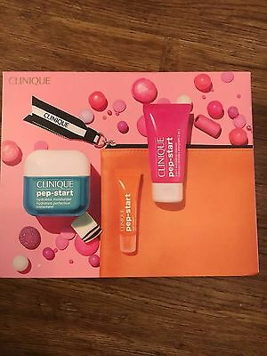 Clinique Pep-Start Gift Set Birthday Gift Idea for Her inc 50ml Hydroblur