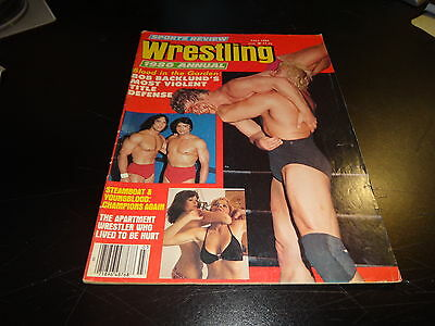 sports review wrestling annual fall 1980 blood in the garden bob backlund wwf