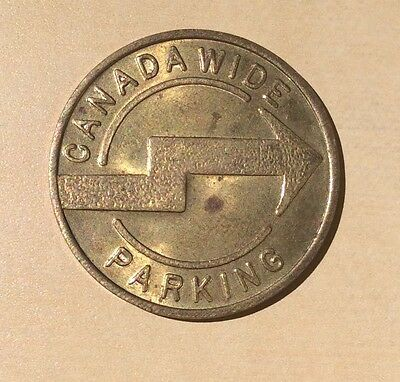 Canada wide Parking Services LTD Park With Pleasure Parking Token