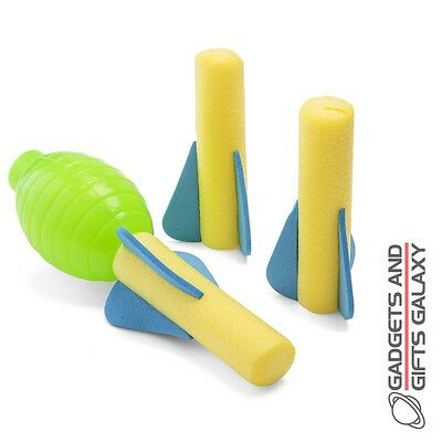 Squeeze Hand Squeeze Hand Pump Foam Rocket Shooter Toy Gift Games Gadgets