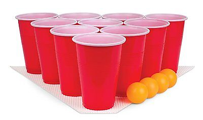 30 Pc Beer Pong Set With Balls Mats  And Cups More All In One Set