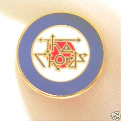 The Chords mod roundel enamel badge.The Who,The Jam,Small Faces,Lambretta,Oasis.