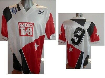 90' - Ultra Rare FC LAUSANNE-SPORT #9 Away Football Shirt Soccer SWISS XL / 9
