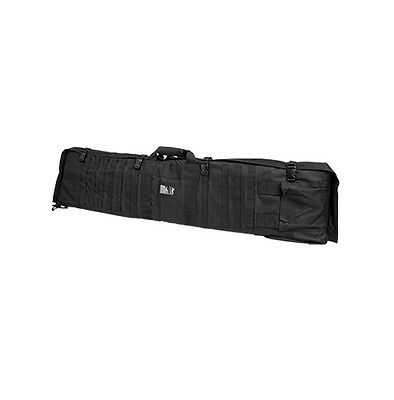 New NCStar VISM Tactical Rifle Gun Carry Case Bag w Shooting Mat - Black