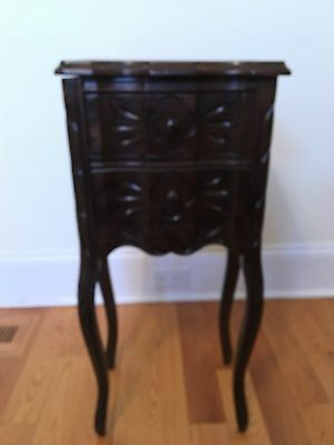 Small Antique Carved Wooden Table
