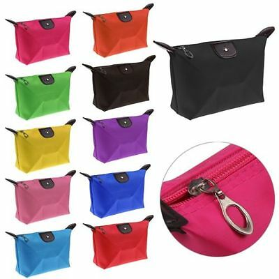 Waterproof Cosmetic Makeup Purse Wash Bag Organizer Pouch Pencil Case Handbags
