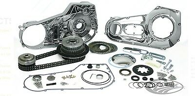 Harley-Davidson Softail primary drive kit Dyna complete clutch chain cases bnib