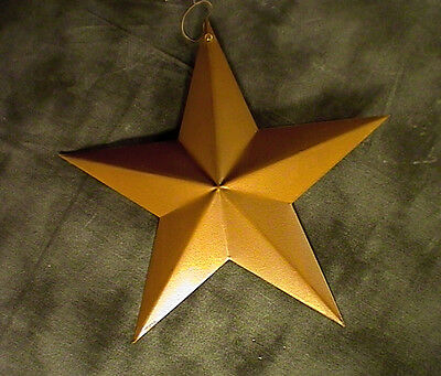 "12"" Metal Wall Steel Rustic Star Indoor Outdoor Holiday Country Hanging"