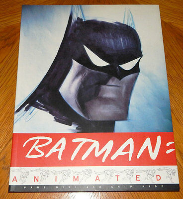 Batman Animated Book By Paul Dini, Chip Kidd, Bruce Timm - OOP 1998 NM