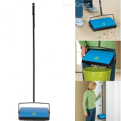 Bissell Hotel Restaurant Sweep Sweeper Broom Cordless Carpet Floor Cleaner