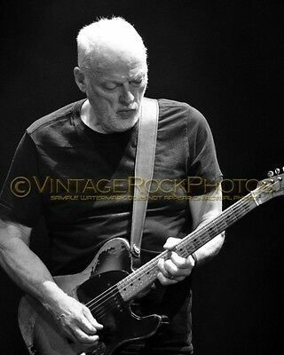 David Gilmour Photo 8x10 inch 2016 MSG NYC, NY Rattle That Lock Concert Tour 158