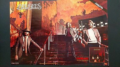 """The Bee Gees """"living Eyes""""  (1981)  Rare Original Print Promo Poster Ad"""