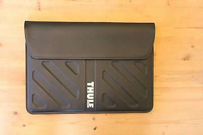 "Black Thule Gauntlet Protective Sleeve Cover Case for 13"" MacBook Air"