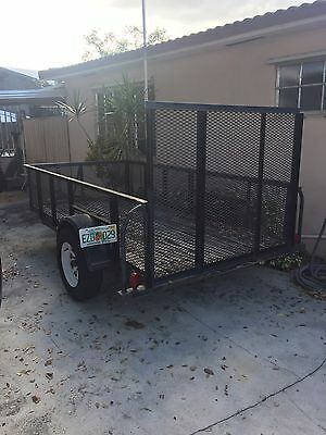 5x10 trailer with 4 ft Ramp