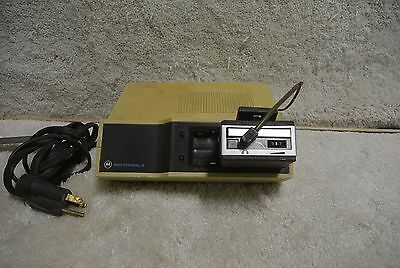 Vintage Motorola Pager W Charger Minitor One 8374