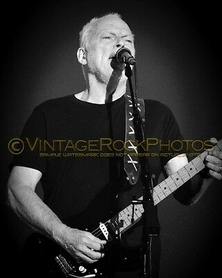 David Gilmour Photo 8x10 inch 2016 MSG NYC NY Rattle That Lock Concert Tour 113b