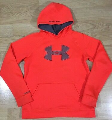 Under Armour Storm1 Hoodie Youth XL Orange Loose