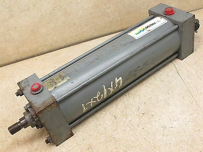 "Miller,  4""  Bore  X  12""  Stroke,  Pneumatic Cylinder,   250 Psi"